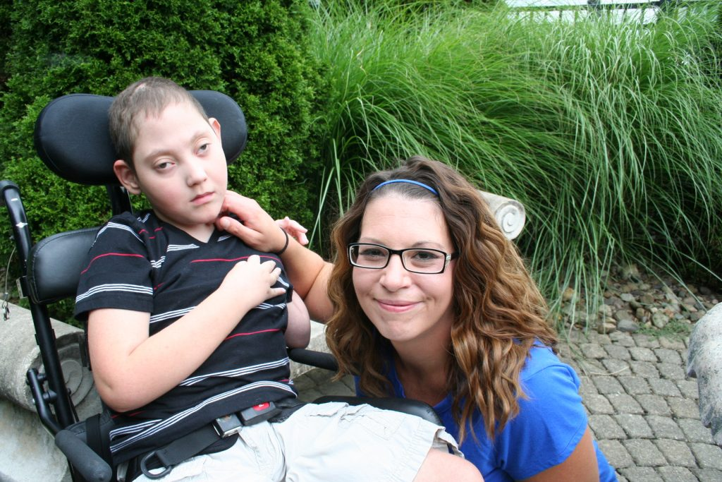 Shannon and her son Jacob
