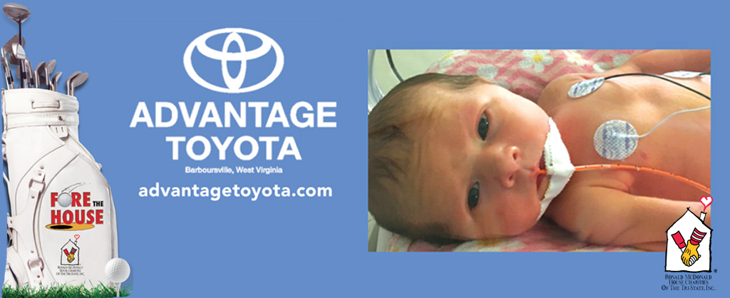 Advantage Toyota presents Ronald McDonald House Charities Open Monday June 5th 2017