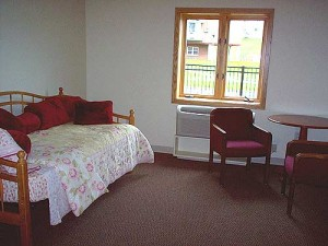An example of one of our rooms.